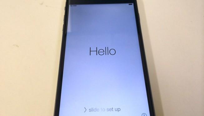 iphone6 plus 到着!
