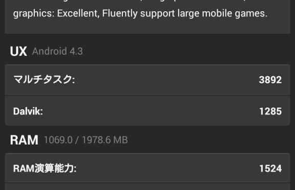 ASUS Zenfone6 ベンチ結果